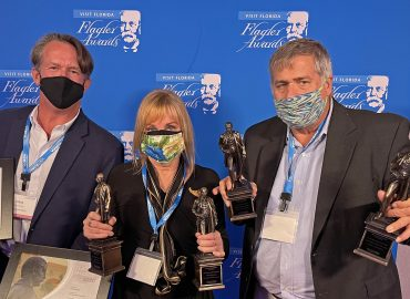 Flagler Award winners for travel marketing and public relations